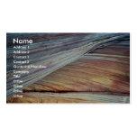 Cross-bedded Navajo sandstone, Arizona, U.S.A. Business Card Template