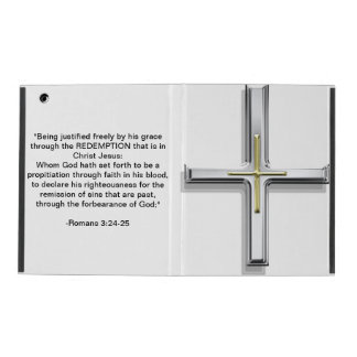 Cross: Being Justified iPad Covers
