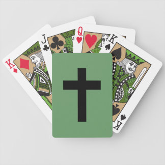 Cross Bicycle Playing Cards