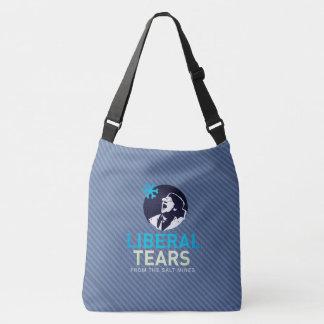 Cross Body Bag Liberal Tears Purple Stripes