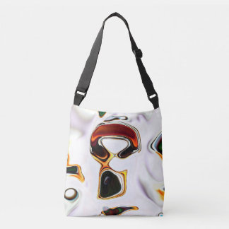 Cross Body Bag. Neural Abstractions Collection Crossbody Bag