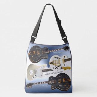 Cross Body Bag with Super Cool Guitar Design Image