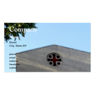 Cross Building Business Card