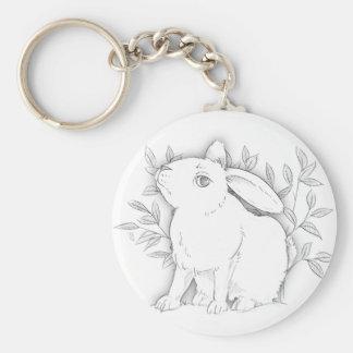 cross bunny keychain