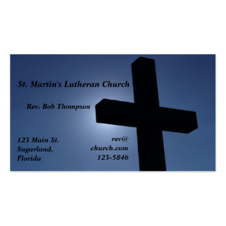 Cross Business Cards