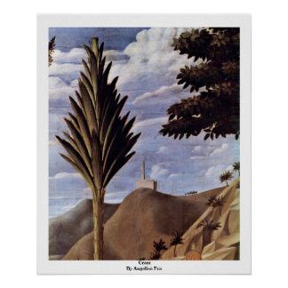 Cross  By Angelico Fra Poster