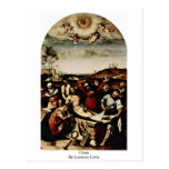 Cross By Lorenzo Lotto Post Cards