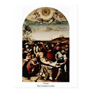 Cross By Lorenzo Lotto Postcard