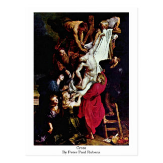 Cross By Peter Paul Rubens Postcard