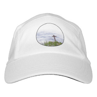 Cross by river headsweats hat
