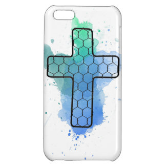 CROSS CAGE colors iPhone 5C Covers
