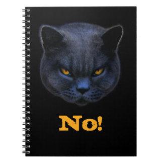 Cross Cat says No Notebook