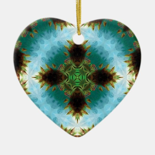 Cross Ceramic Ornament