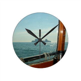 Cross Channel Ferry From The Wheelhouse Clocks