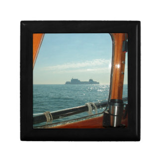 Cross Channel Ferry From The Wheelhouse Gift Box