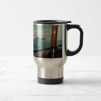 Cross Channel Ferry From The Wheelhouse Travel Mug