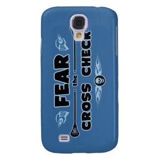 Cross Check - blue Samsung S4 Case