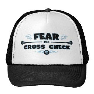 Cross Check - blue Trucker Hat