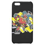 cross checking ice hockey players case for iPhone 5C