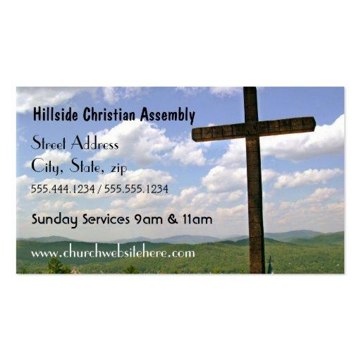 Cross Church Business Card