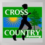 Cross Contry Running Poster