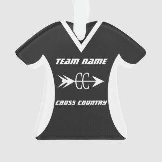 Cross Country Black Sports Jersey Photo