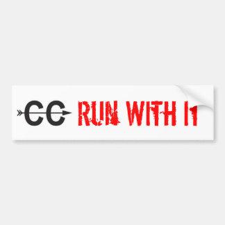 Cross Country - Bumper Sticker