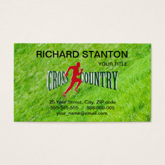 Cross country business card