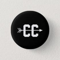 Cross Country CC Pinback Button