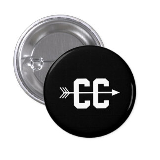Cross Country CC Pinback Button