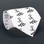 """Cross Country CC &#169; Runner Themed Tie<br><div class=""""desc"""">A Cool Cross Country Runner running and a CC Arrow Symbol Tie!  Unique Gift for the Cross Country Coach,  People who Run XC in High School,  College or Professional Runners.  Also a Great Present for the CC Dad.</div>"""