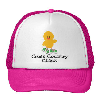 Cross Country Chick Hat