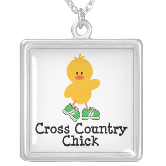 Cross Country Chick Sterling Silver Necklace