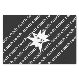 "Cross Country Coach 10"" X 15"" Tissue Paper"