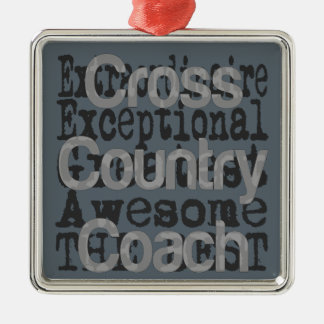 Cross Country Coach Extraordinaire Metal Ornament