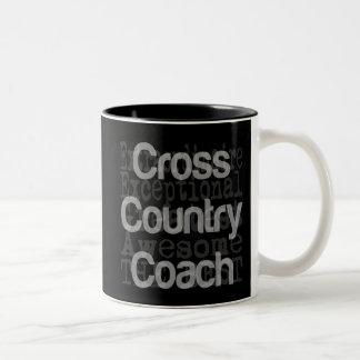 Cross Country Coach Extraordinaire Two-Tone Coffee Mug
