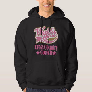 Cross Country Coach Gift Girls (Worlds Best) Hoodie