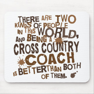 Cross Country Coach Gift Mouse Pad