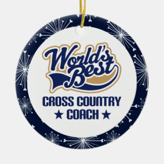 Cross Country Coach Gift Ornament