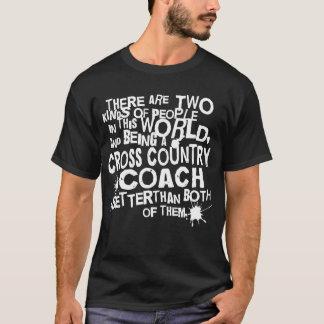 Cross Country Coach Gift T-Shirt