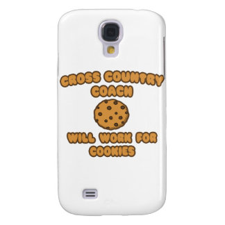 Cross Country Coach .. Will Work for Cookies Galaxy S4 Case