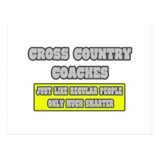 Cross Country Coaches...Much Smarter Postcard