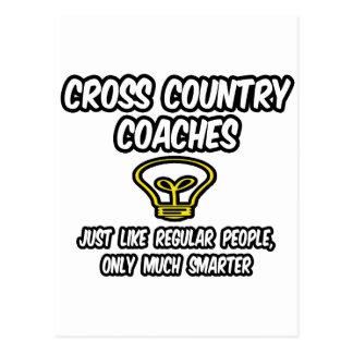 Cross Country Coaches...Smarter Postcard