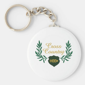 CROSS COUNTRY CREST KEYCHAIN