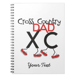 Cross Country Dad Notebook