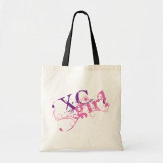 Cross Country Girl Budget Tote Bag