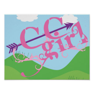 Cross Country Girl - CC Poster