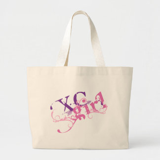 Cross Country Girl Large Tote Bag