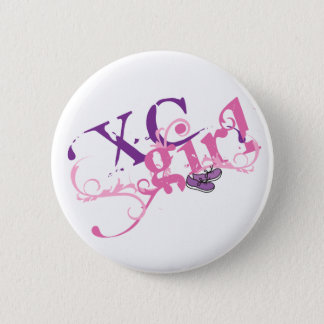 Cross Country Girl - XC Pinback Button