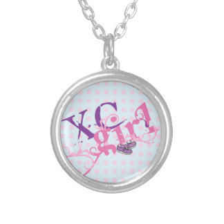 Cross Country Girl - XC Round Pendant Necklace
